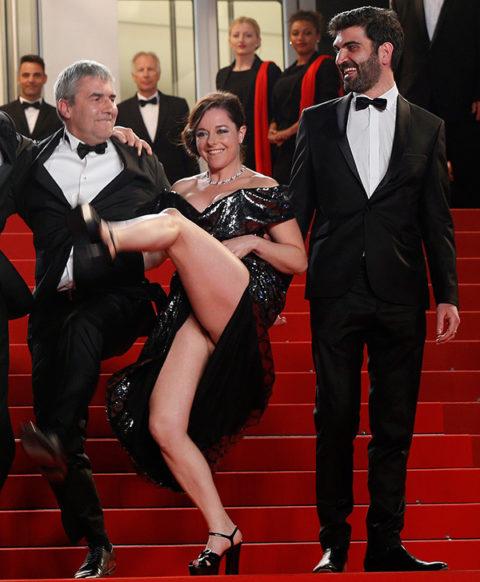 【ポロリ】レッドカーペットでチラチラ見せる有名女優の手口がこちら。(29枚)・7枚目