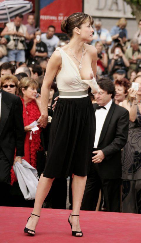 【ポロリ】レッドカーペットでチラチラ見せる有名女優の手口がこちら。(29枚)・9枚目