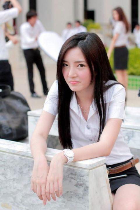 【エロ画像】タイの美人JDさん世界の男たちに魅力を提供するwwwww・14枚目