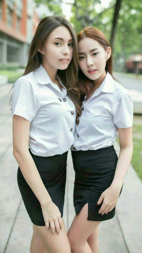 【エロ画像】タイの美人JDさん世界の男たちに魅力を提供するwwwww・16枚目
