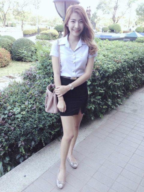 【エロ画像】タイの美人JDさん世界の男たちに魅力を提供するwwwww・21枚目