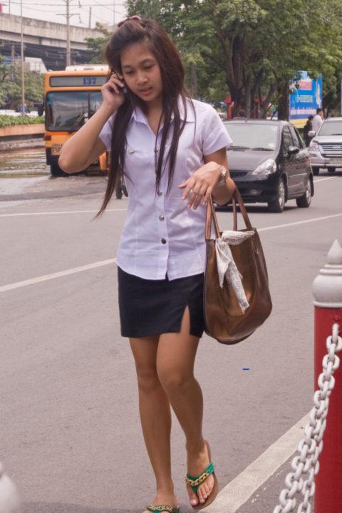 【エロ画像】タイの美人JDさん世界の男たちに魅力を提供するwwwww・25枚目