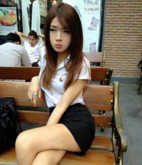 【エロ画像】タイの美人JDさん世界の男たちに魅力を提供するwwwww・31枚目