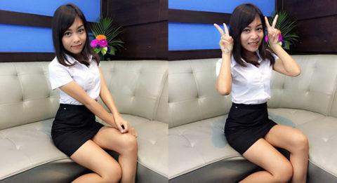 【エロ画像】タイの美人JDさん世界の男たちに魅力を提供するwwwww・5枚目