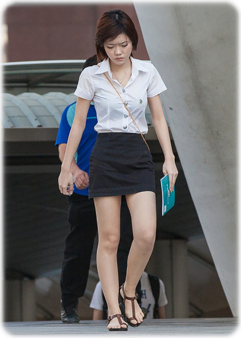 【エロ画像】タイの美人JDさん世界の男たちに魅力を提供するwwwww・9枚目