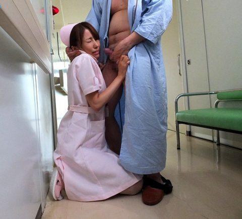 【エロ画像】意識朦朧な患者のフリしてナースにコレしたらアカンの??・7枚目