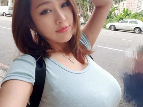 着衣巨乳の宝庫「台湾美女」のダイナミックおっぱいがこちら。(36枚)