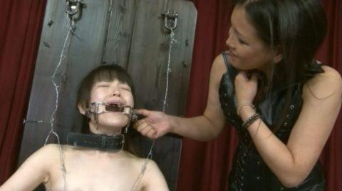 【究極調教】有刺鉄線やホッチキスで固定された女たち・・・・・9枚目