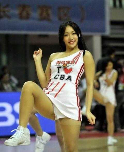 チアリーダーの韓国まんさん、世界トップクラスのボディーだと話題にwwwwww・20枚目