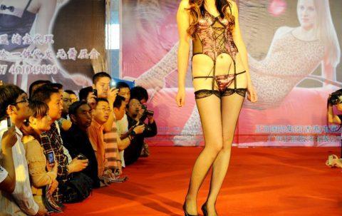 中国の下着モデルさん、マンコはみ出てもモーマンタイwwwwwww・12枚目