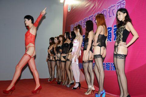 中国の下着モデルさん、マンコはみ出てもモーマンタイwwwwwww・26枚目