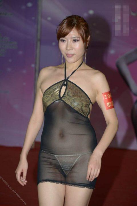 中国の下着モデルさん、マンコはみ出てもモーマンタイwwwwwww・5枚目