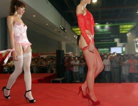 中国の下着モデルさん、マンコはみ出てもモーマンタイwwwwwww・6枚目
