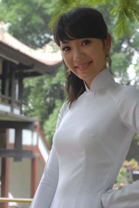 ベトナム行ったら一発でヤラれちゃうアオザイ美女たちの画像集(83枚)・33枚目