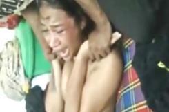 伝説の動画。10代の少女を全裸にしてガチレ●プ。6人の男女が逮捕された