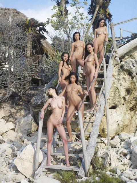 ヌードモデルのエロ画像集。「思ったより恥ずかしい…」って表情がいいwwwwww(148枚)・102枚目