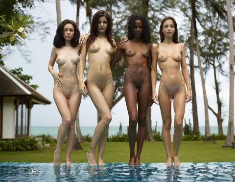 ヌードモデルのエロ画像集。「思ったより恥ずかしい…」って表情がいいwwwwww(148枚)・146枚目