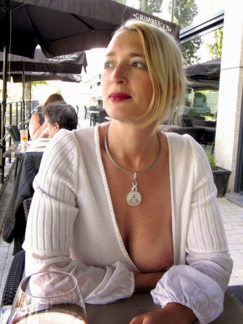【ポロリハプニング】乳首がハッキリ見えた女性たちの決定的瞬間(142枚)・142枚目
