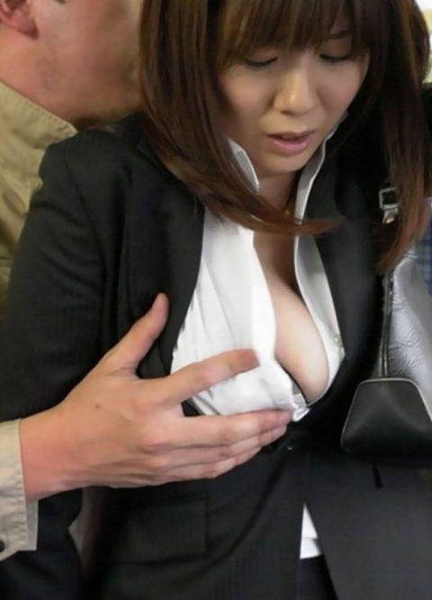 【JK痴漢】通勤電車でJK見てムラムラしてるやつはこれ見て我慢しとけwwwwww(124枚)・54枚目