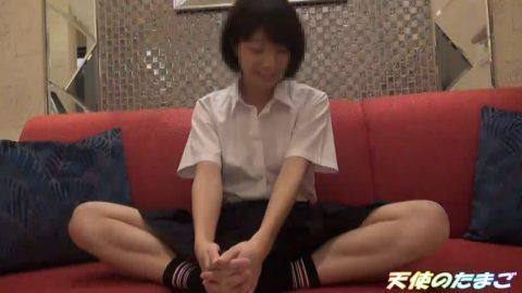 【陸上部JK】遊び慣れてないショートカット陸上部少女がホテルで大量潮吹き!!・1枚目